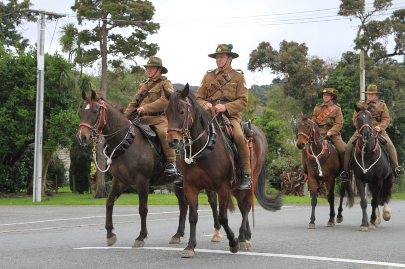 Mounted Rifles