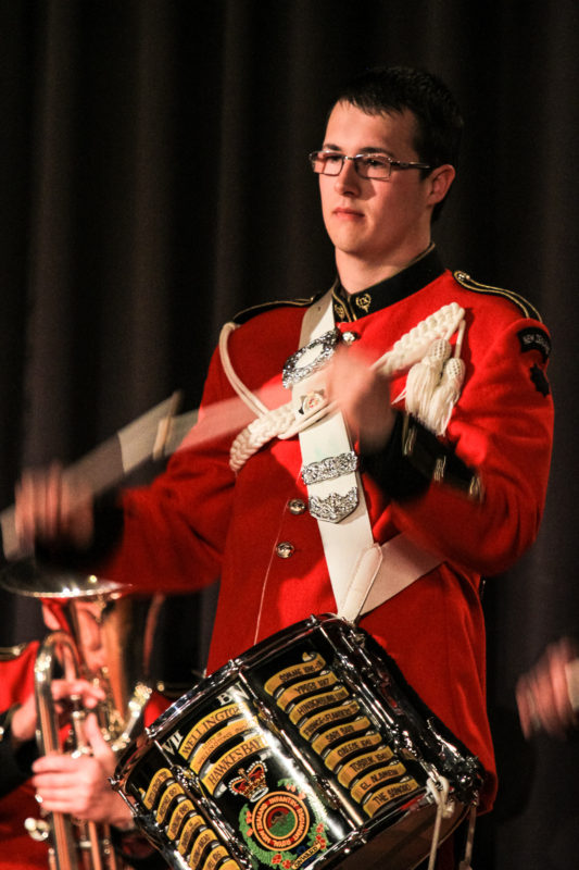 7th Battalion Band Drummer