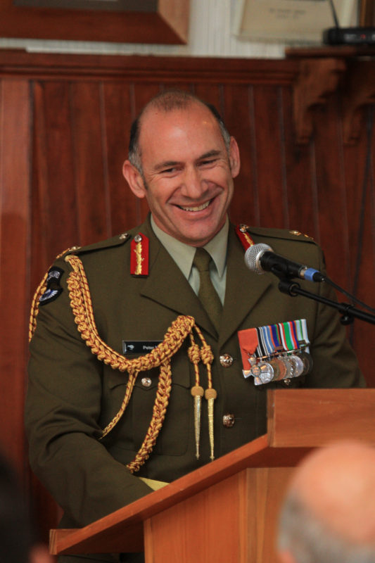 Head of the NZ Army